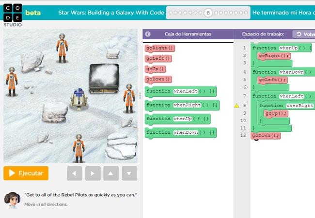 Lee más sobre el artículo Aprende a programar con Star Wars