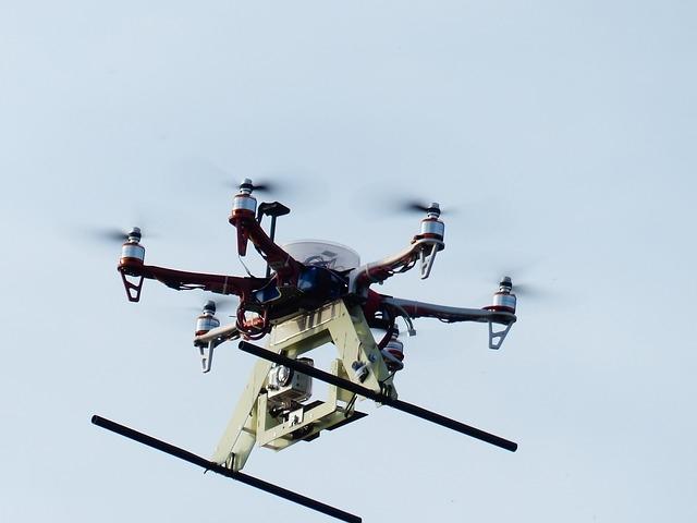 Drones ayudando en Nepal