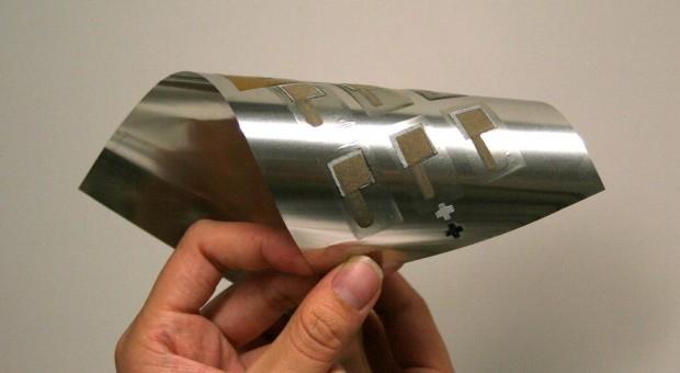 Baterías impresas flexibles para mejorar los wearables