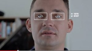 Sensor de seguimiento de ojos