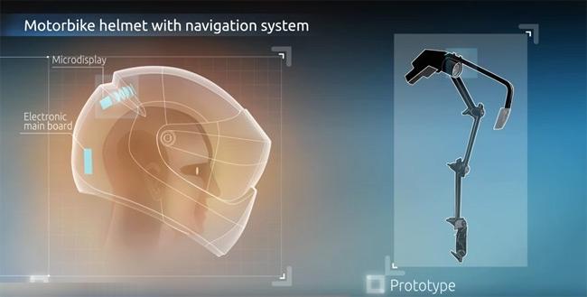 Lee más sobre el artículo Un casco de moto con Android que incorpora GPS y control por voz