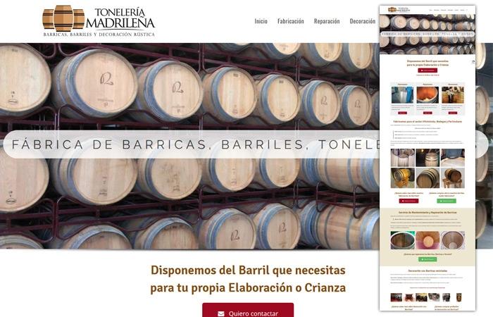 Lee más sobre el artículo Tonelería Madrileña