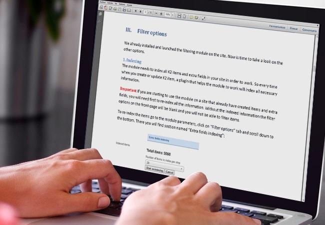 Herramientas para editar archivos PDF desde un Navegador